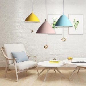 Macaron series Cone Pendant Lights