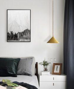 Hanglamp van gehamerd koper