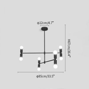 Atomium chandelier
