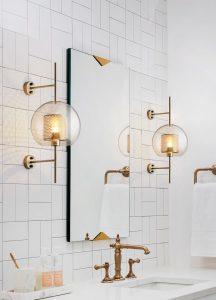 Chiswick Glass Wall Light