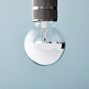 LED-lamp - zilverkleurige tip