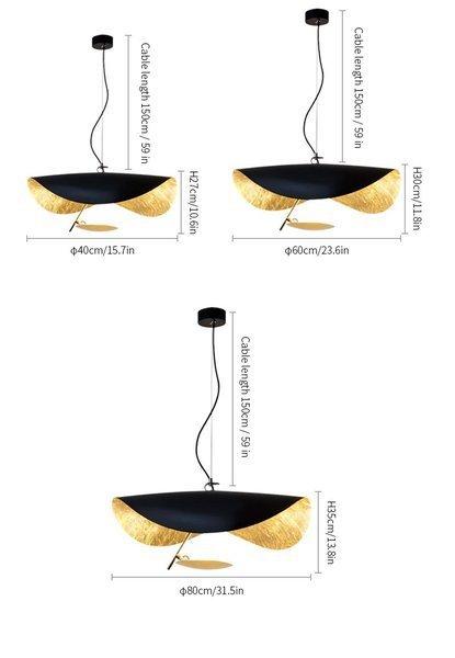 Lederam Manta Pendant / Ceiling light