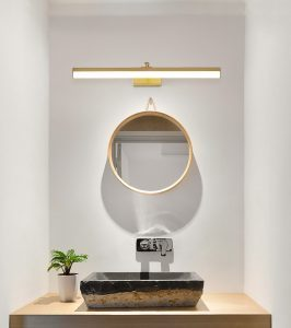 Brass LED Bath Vanity lamp