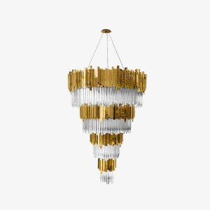 Empire chandelier