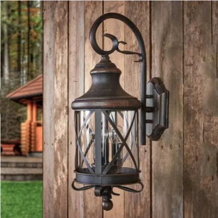 Rustic outdoor wall lamp Romantica